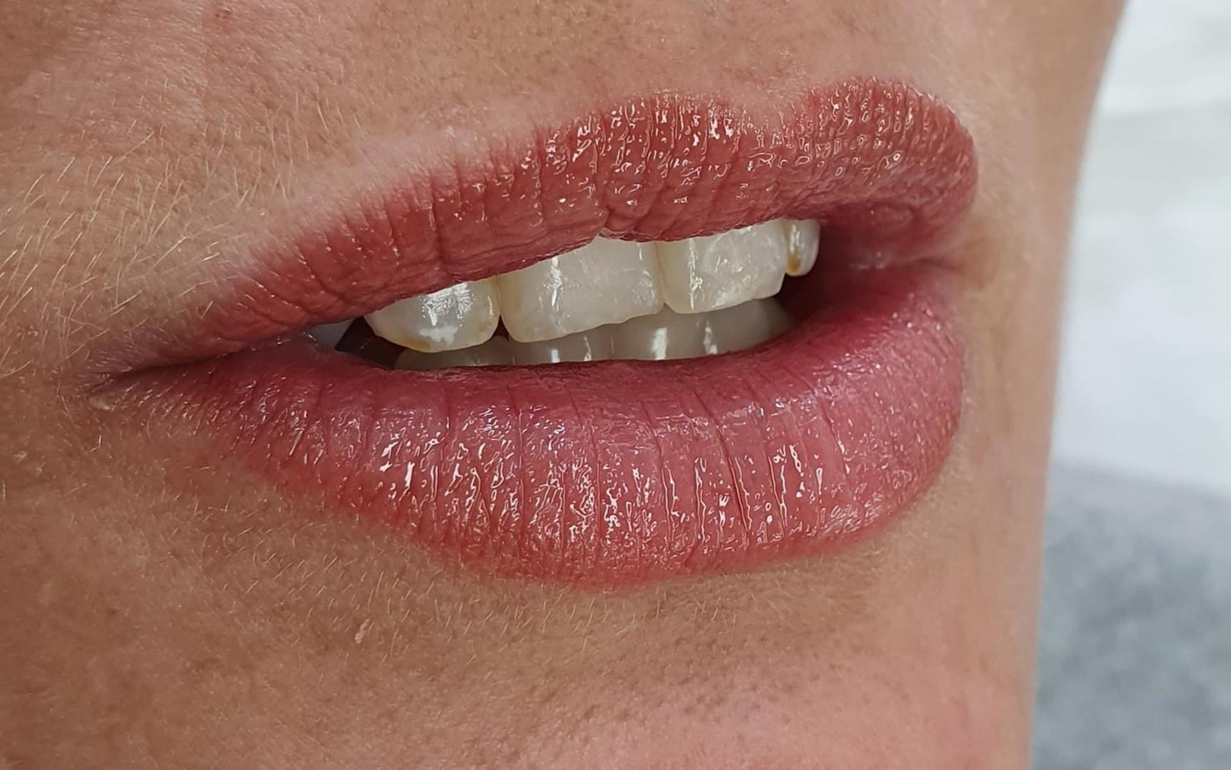 Semi permanent makeup lip tattoo.JPG