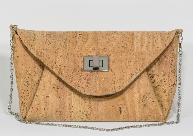 Natural cork JUDI ANNE clutch