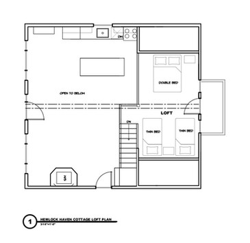 Hemlock Loft Floorplan