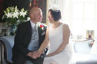Wedding day photography bride & groom