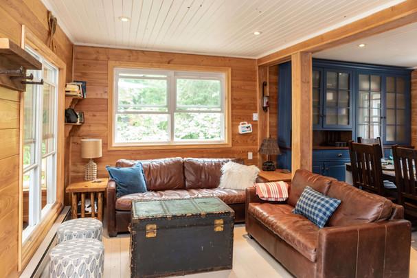Cozy Cottage Living Room