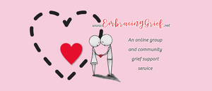 Embracing Grief - Facebook Cover Graphic designed by AG Social Co