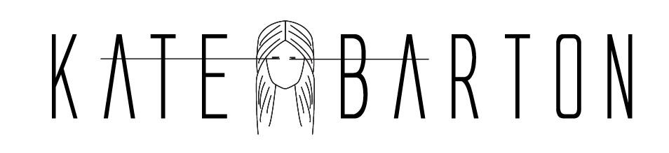 Kate Barton Logo Design by AG Social Co