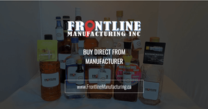 Frontline Manufacturing Social URL Share Graphic designed by AG Social Co