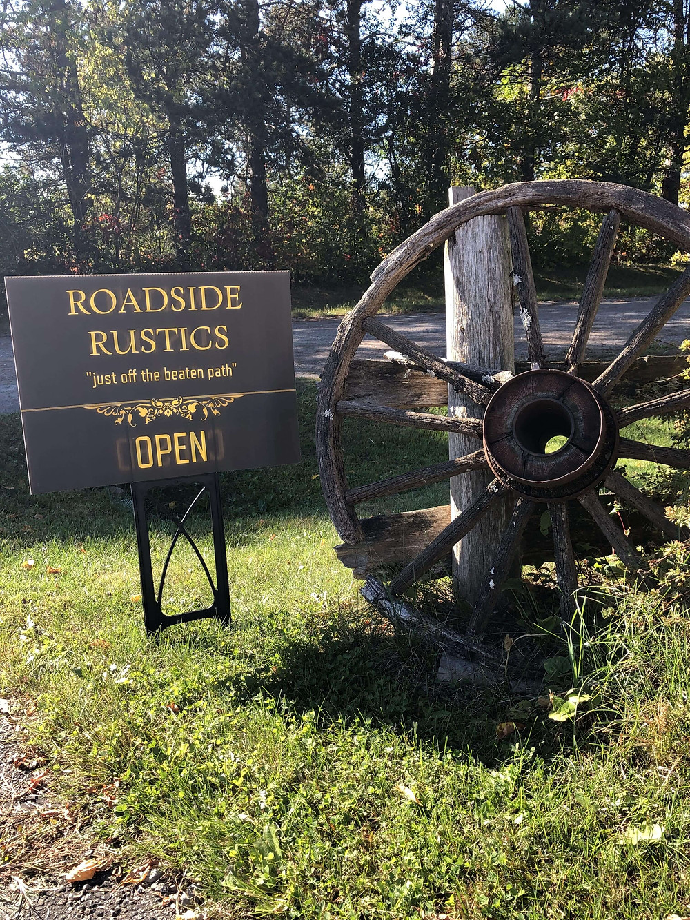 Roadside Rustics is open for business!