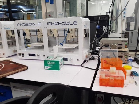 Creating new ideas in the BioFab3D Lab