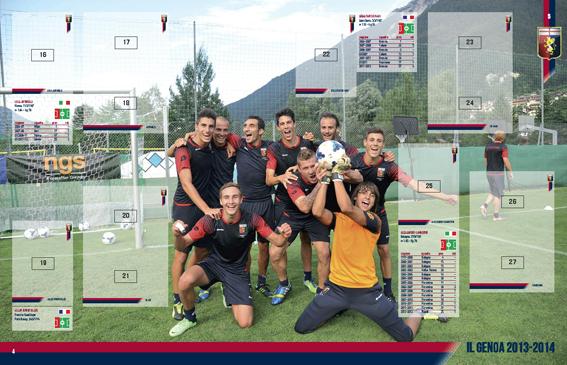 Genoa, Le Figurine  2013-2014