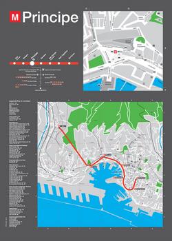 Tavole indicative Metro Genova