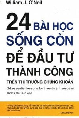24 Bài học sống còn để đầu tư thành công (2017) - 69k
