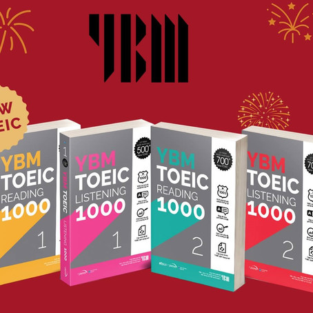 """Review Combo Sách """"YBM TOEIC """""""