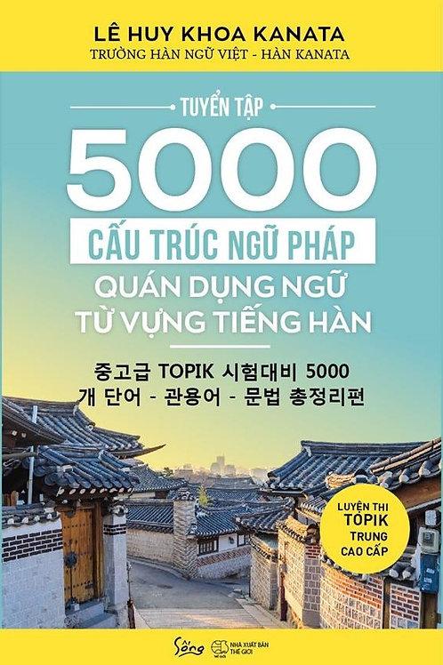 Tuyển tập 5000 cấu trúc ngữ pháp quán dụng ngữ từ vựng tiếng Hàn - 129k