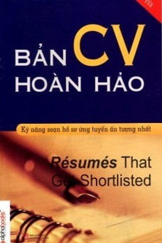 Bản CV hoàn hảo (TB 2013) - 45k