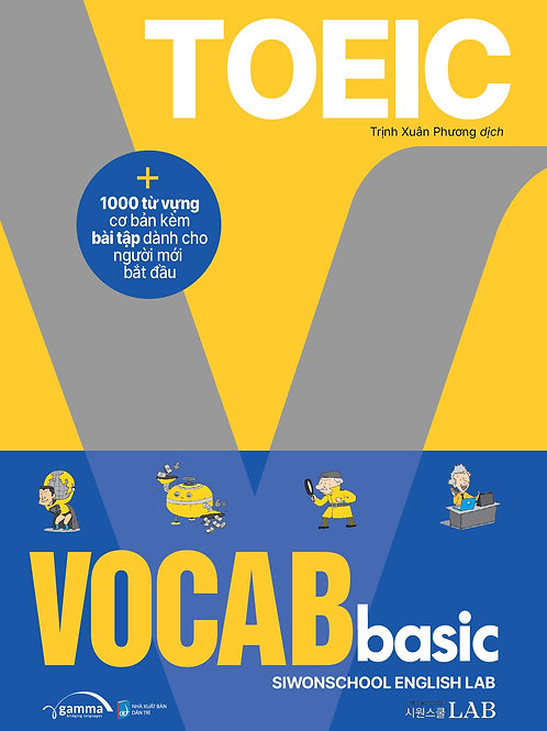 Toeic Vocab Basic - 1000 từ vựng cơ bản - 149k