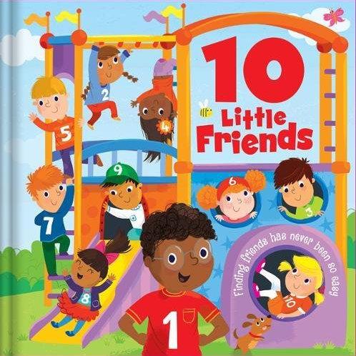 10 Little Friends Padded Hbk