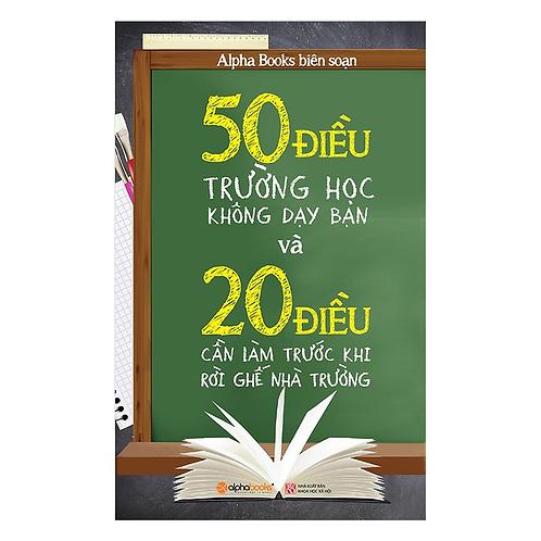 50 Điều trường học không dạy bạn - 119k