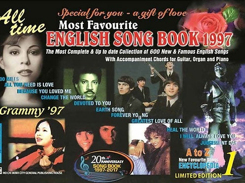 English Song Book 1997 (tập 1) 97k