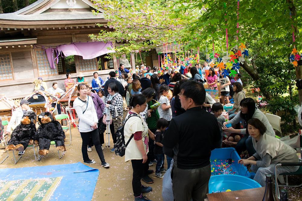 平成28年春季例祭の様子(1)