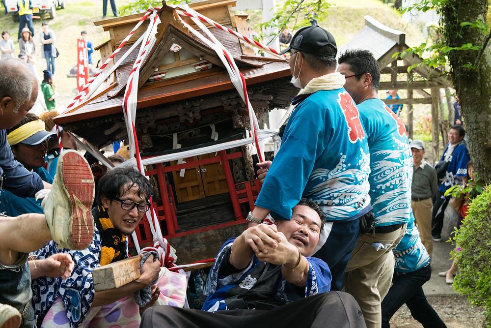 平成28年春季例祭の様子(2)