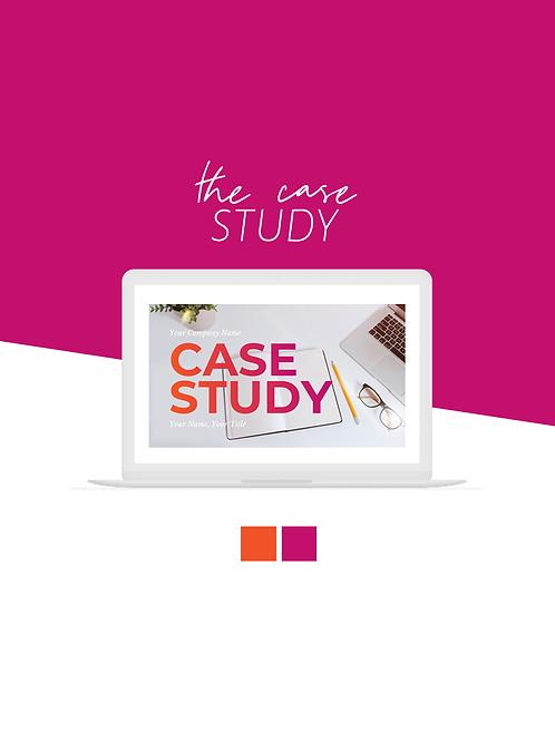 The Case Study (Pink & Orange)