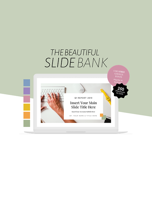 The Beautiful Slide Bank