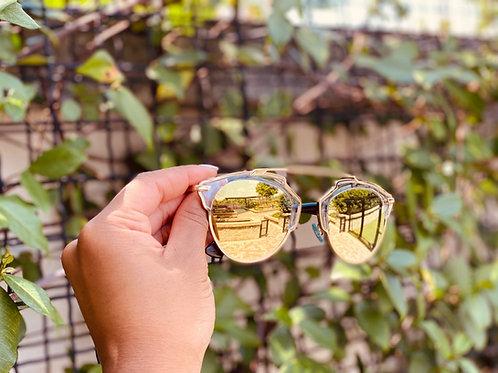 "Dior ""So Real"" Mirrored Sunglasses"