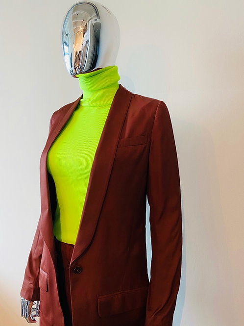 Tailored Mahogany Suit