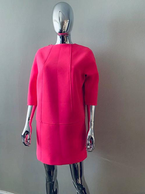 Hot Pink Bubble Dress