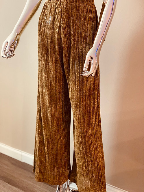 H&M gold trousers