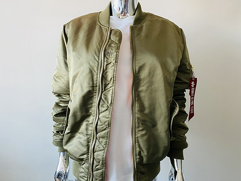 Alpha Industries MA-1 Reversible Slim Fit  Bomber Jacket
