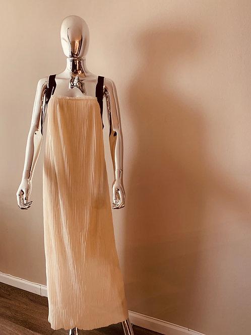 Cream colored maxi dress