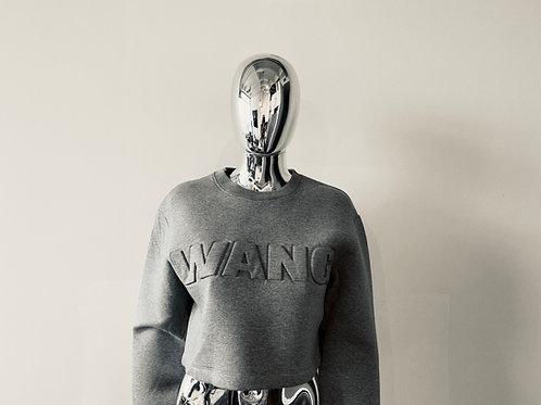 Alexander Wang x HM cropped crew neck sweatshirt