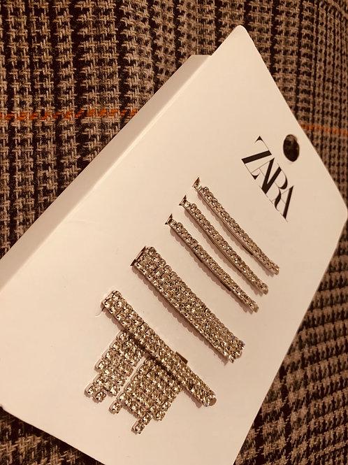 Bejeweled hair pins