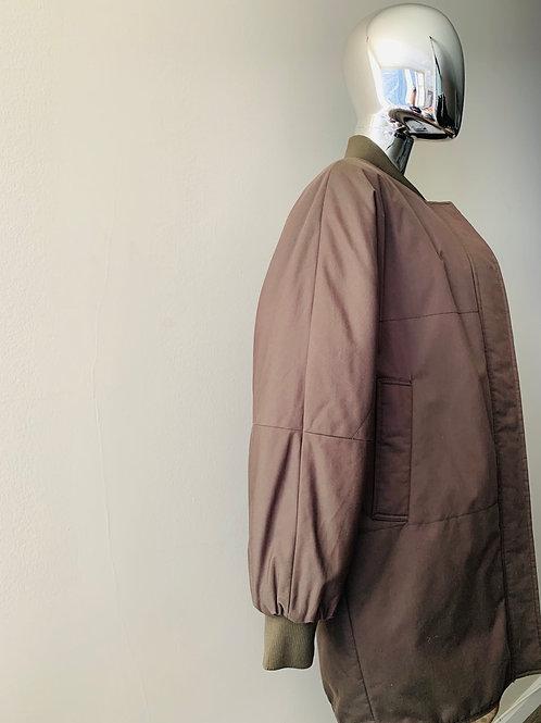 Green Bomber Coat