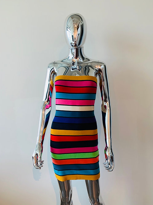 French Connection Rainbow Tube Dress