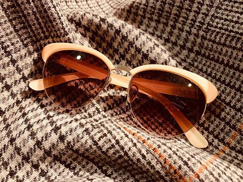 Peach Colored Sunglasses