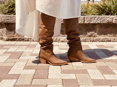 Knee Length Cowboy Boots