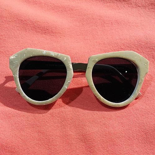 Cream colored Sunglasses