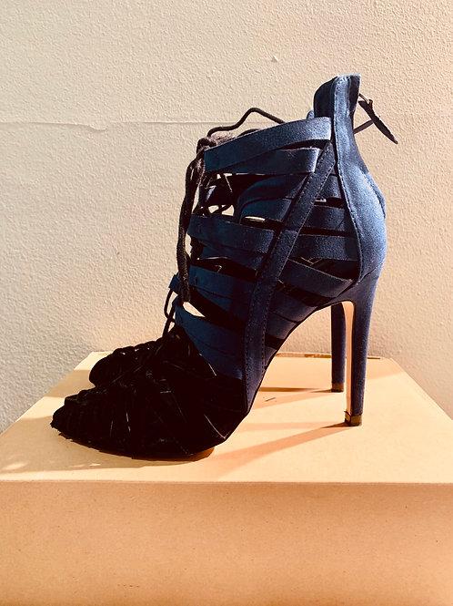 Zara lace up heels
