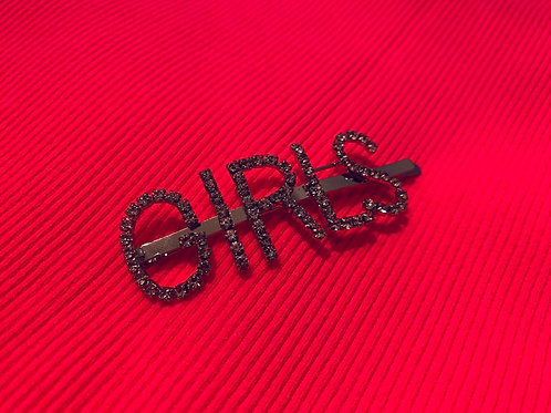 """GIRLS"" hair pin"