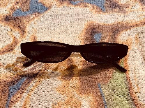 Black (narrow frame) Sunglasses