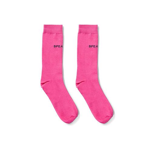 Speakeasy socks pink - UNISEX