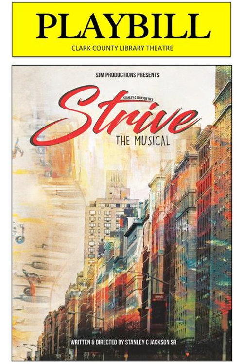 Strive! The Musical Las Vegas DVD