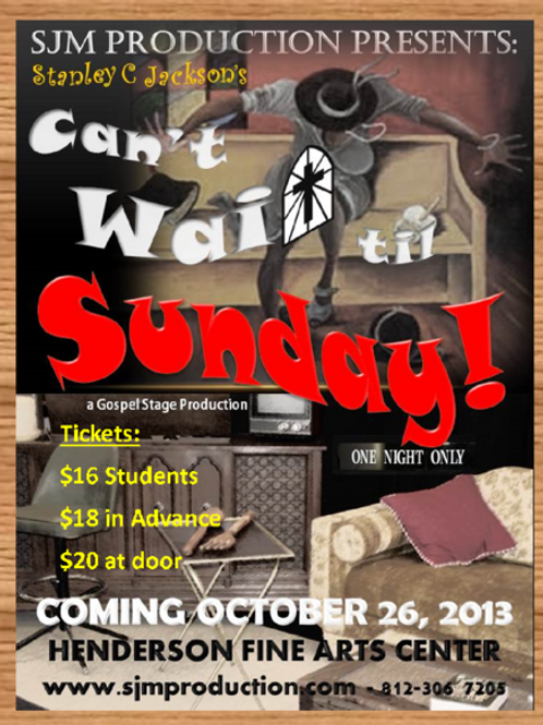 Can't Wait'til Sunday - DVD
