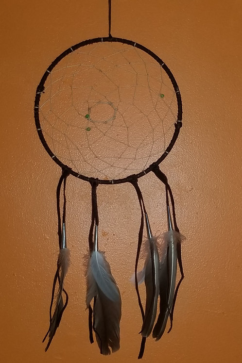 Large Leather Dreamcatcher