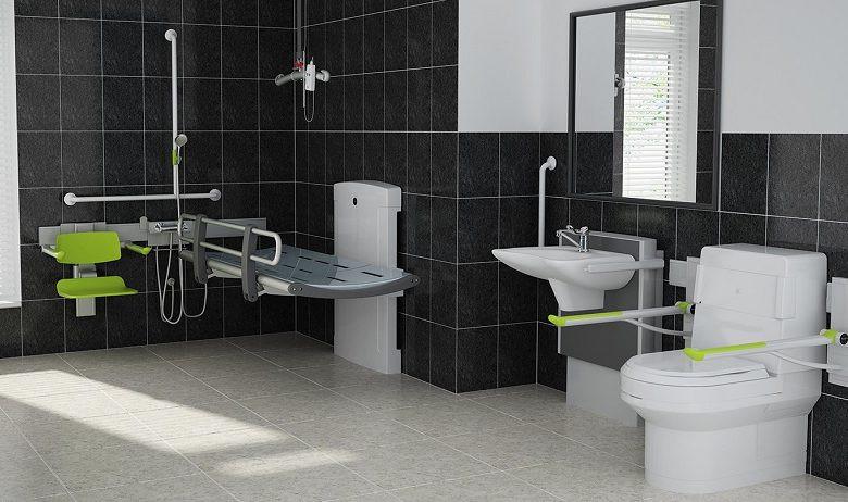 Baños accesibles para personas mayores y discapacitadas
