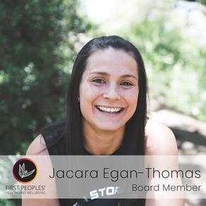 New Board Member: Jacara Egan