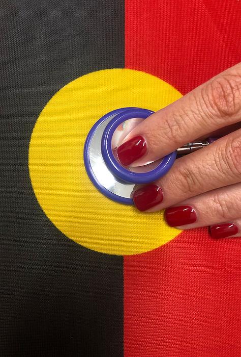 Aboriginal flag and stethoscope 2.jpg