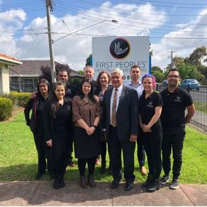 Minister Ken Wyatt visits FPHW Thomastown
