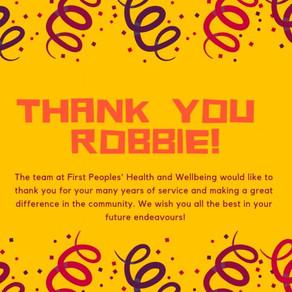 Farewell Robbie!
