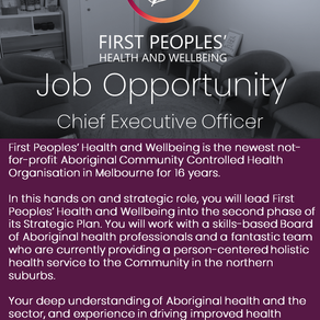 Job opportunity: CEO